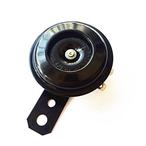 SoundOriginal Universal Motorcycle Electric Horns Auto Horns Loud kit 12V 1.5A 105db Waterproof Round Loud Horn Speakers ()