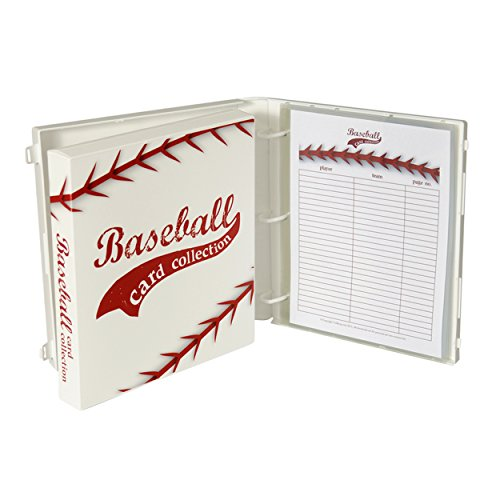 UniKeep Baseball Trading Card Collection Binder - Holds up to 180 Standard Size Cards (2 per pocket)