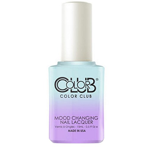 Color Club Mood Changing Nail Lacquer, Blue Skies Ahead, 0.5 Fluid Ounce