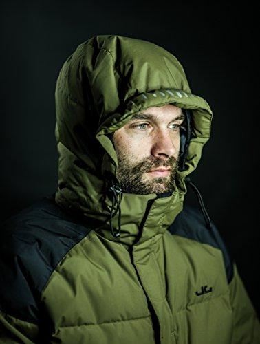 Jeff Green Herren Daunenjacke Cardiff, Black, 38, 1003 BL