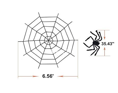 Good news Halloween Decorations, Spider Web Decorations and Giant Spider Decorations Outdoor IndoorDecorations, Spider Web Decorations and Giant Spider Decorations Outdoor Indoor