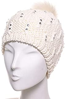 89471179cef07 McBURN Basque en Tricot pour l'Ete Femme   béret Coton Bonnet ...