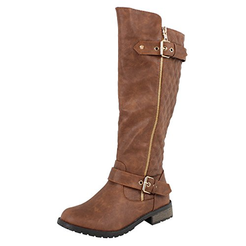 - Forever Link Mango-21 Lady Boot Tan 9
