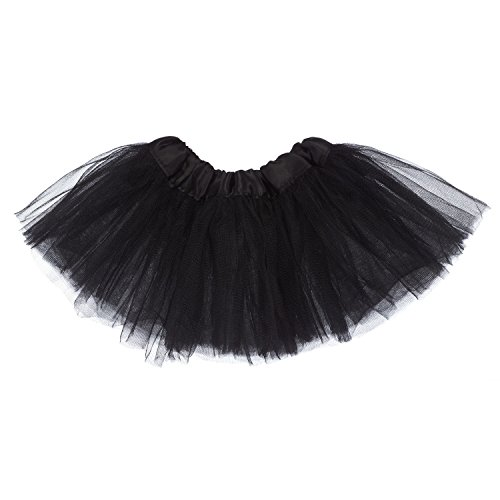 My Lello Baby 5-Layer Ballerina Tulle Tutu Black (0-3 mo.)