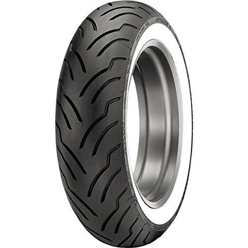 Dunlop American Elite Whitewall Rear Tire (Wide Whitewall / MT90B16)