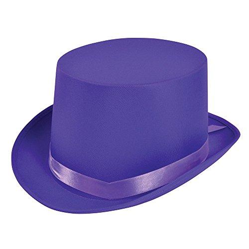 Bristol Novelty BH500 Top Hat Purple, One