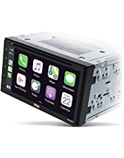 BOSS Audio Systems Elite BV900ACP Car Multimedia Player with Apple CarPlay-Android Auto - Double Din, 6.75 Inch Capacitive Touchscreen, Bluetooth, DVD, CD, USB, Aux, AM FM