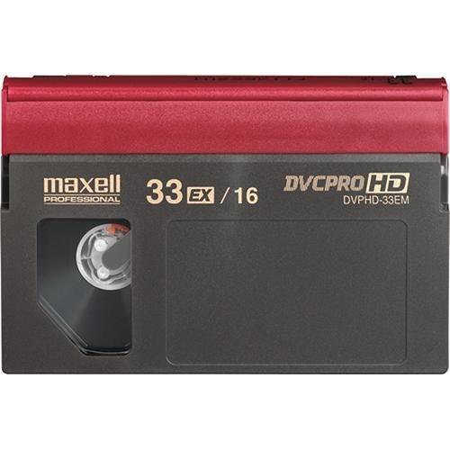 Maxell DVPHD-33M DVCPRO HD VIDEOCASSETTES
