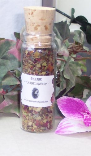Raven Moonlight Hand-blended Herbal Incense: Consecration