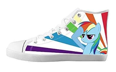 Amazon.com   BTS Custom Kid Boys and Girls Cute Cartoon Canvas Shoes-Anime My Little Pony Design ...