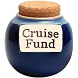 Tumbleweed - Cruise Fund - Ceramic Jar With Cork Lid - Cruise Gifts - Vacation Gifts