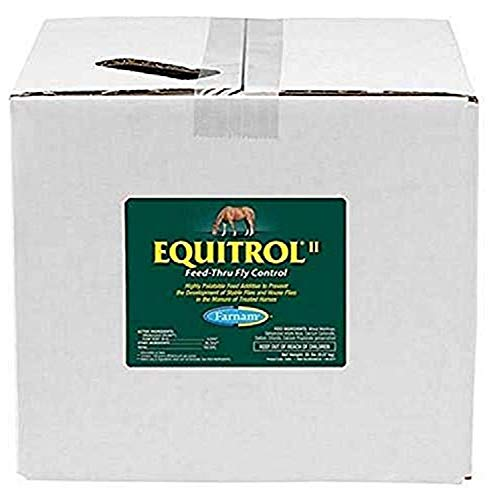 Equitrol II Feed-Thru Fly Control for Horse, 20-Pound