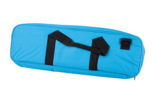 Deluxe Chess Bag   Neon Blue   By Us Chess Federation