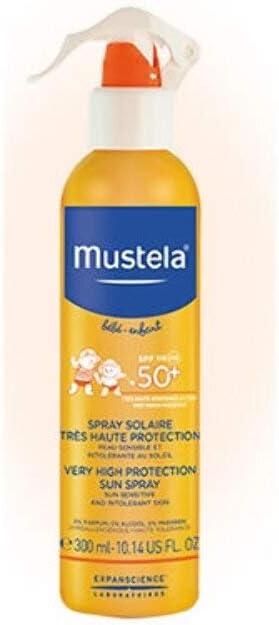 MUSTELA BEBE ALTA PROT 50+ SPRAY 300 ML: Amazon.es: Belleza