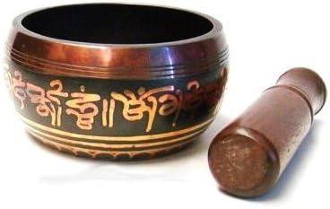 4.5 Wide Artncraft Tibetan Singing Bowls High Quality with Striker