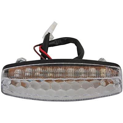 X-PRO Tail Light for 50cc 70cc 90cc 110cc 125cc ATVs: Automotive