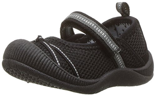 OshKosh B'Gosh OshKosh B'Gosh Dexy Girl's Bumptoe Mary Jane Sneaker, Black, 8 M US Toddler