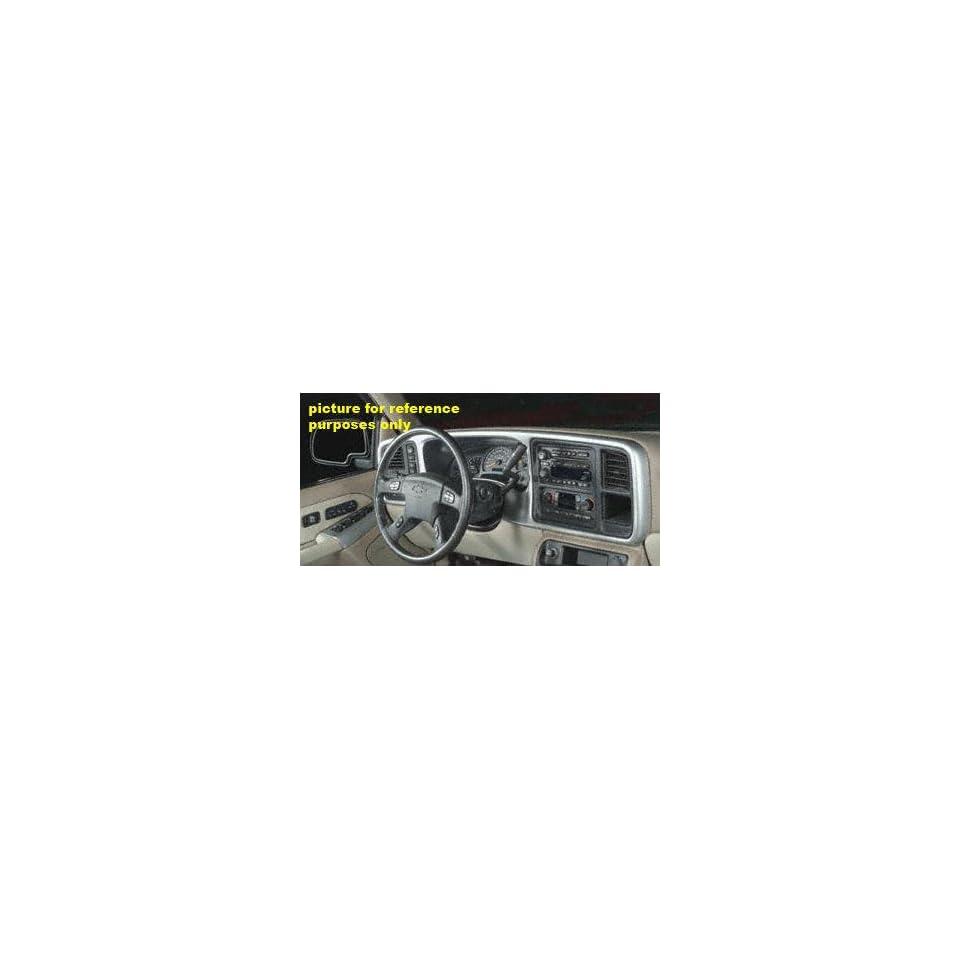 03 04 CHEVY CHEVROLET SILVERADO PICKUP DASH TRUCK, Kit, Double Brushed Aluminum, 5 pcs., Crew Cab (2003 03 2004 04) HU 13129
