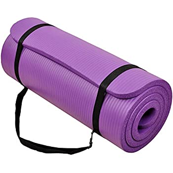 """Amazon.com : Incline Fit Exercise Mat Ananda 1"""" Extra"""