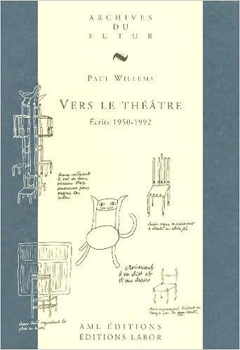 Livre Vers le théâtre : Ecrits 1950-1992 pdf ebook