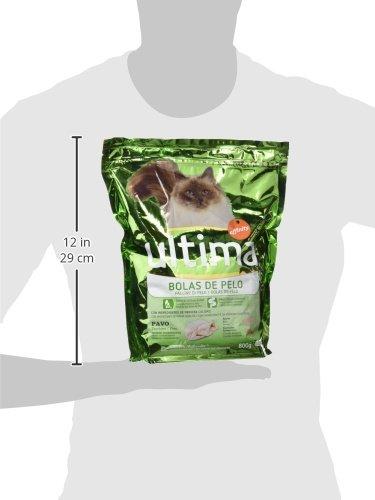 Ultima Cat - Control Bolas De Pelo Pavo 800 g: Amazon.es: Alimentación y bebidas