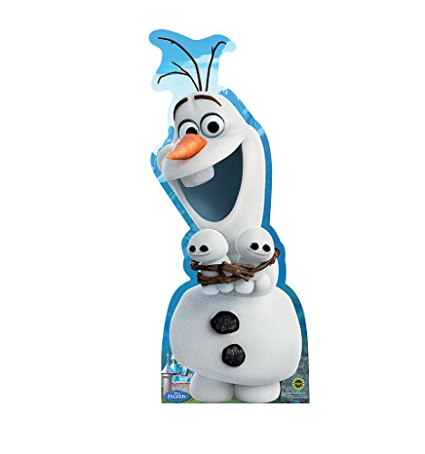 Olaf Hugging Snowgies - Disney's Frozen Fever (2015 Short Film) - Advanced Graphics Life Size Cardboard Cutout Standup by Advanced Graphics