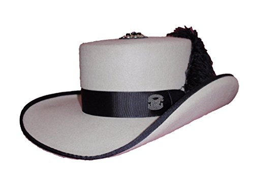 D Bar J Hat Brand, Female, Gambolero, Size 7, Silver Belly by D Bar J Hat Brand