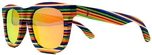 Wood Sunglasses Multi Colored Polarized Handmade product image
