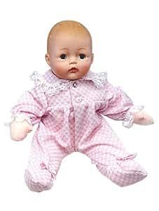 Amazon Com Madame Alexander Baby Huggums With Pink Check