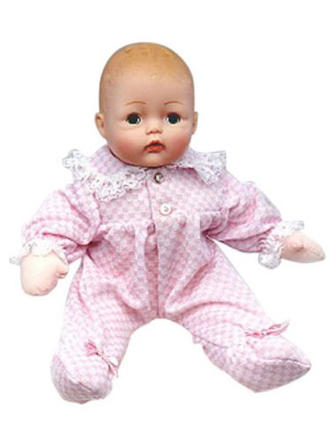 Madame Alexander Infant Doll (Madame Alexander Baby Huggums With Pink Check Onesie 29200)