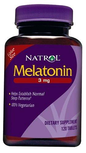 Natrol Melatonin Tablets 3mg Count