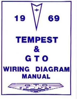 [SCHEMATICS_4LK]  Amazon.com: 1969 PONTIAC GTO TEMPEST Wiring Diagrams Schematics: Everything  Else | 1966 Gto Wiring Diagram |  | Amazon.com