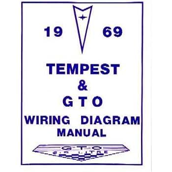Amazon.com: 1967 PONTIAC GTO TEMPEST Wiring Diagrams ...