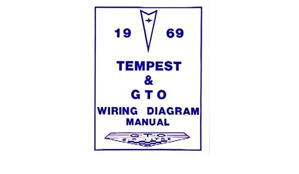 amazon com: 1969 pontiac gto tempest wiring diagrams schematics: everything  else