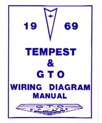 amazon com 1969 pontiac gto tempest wiring diagrams 1969 Pontiac Gto Wiring