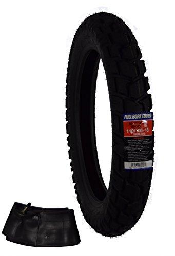 (Full Bore 110/100-18 M-41 RT M41 Adventure Touring Bike Tire with TR-4 Inner Tube)