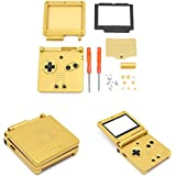 Replacement Housing Shell Case Screen Lens for GBA SP Game Boy Advance SP-Zelda Golden Limited Edition