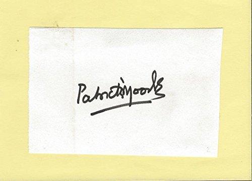 (Patrick Moody Signed Vintage Album Page Smokey & the Bandit)