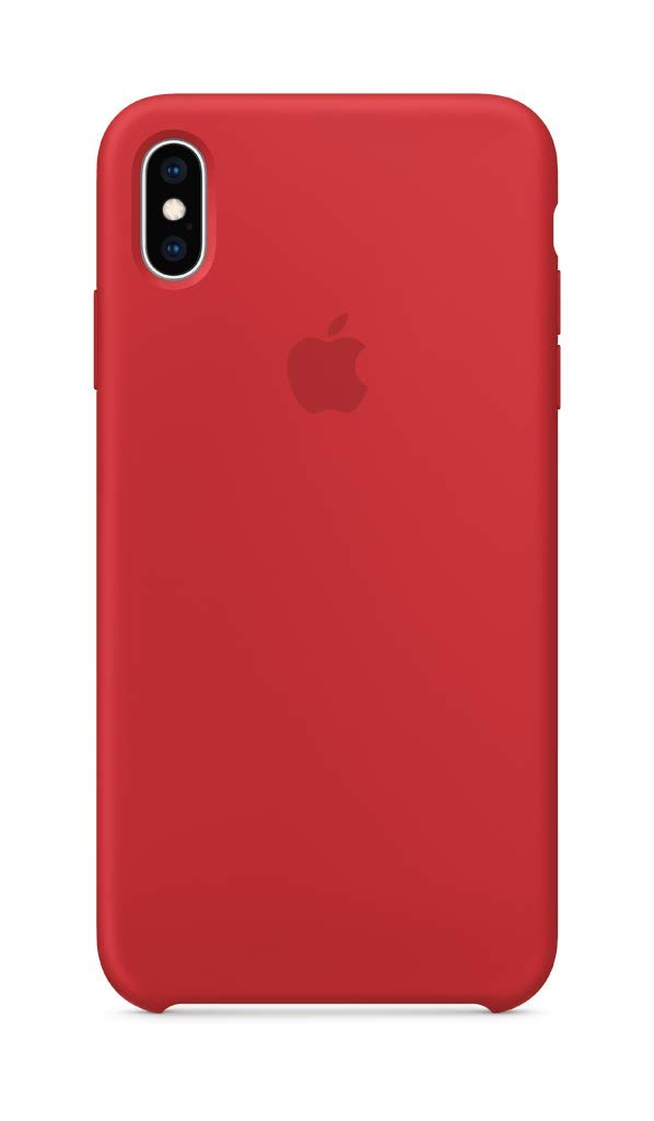 promo code 857ac e0abd Apple Silicone Case (for iPhone Xs Max) - (Product) RED