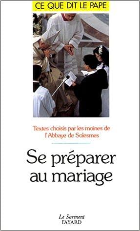Se préparer au mariage pdf