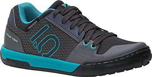 Five Ten Women's Freerider Contact Wms Approach Shoes, Shock Green/Onix, 9.5 B US