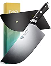 """DALSTRONG Cleaver Butcher Knife - 9"""" (23 cm) - Gladiator Series - """"The Ravager"""" - German HC Steel - Heavy Duty - Sheath Included - NSF Certified"""
