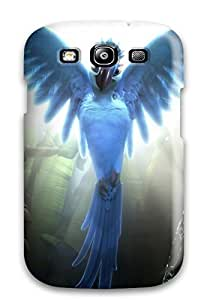 QroqeUg2864hEKxU CaseyKBrown Rio Movie 4 Durable Galaxy S3 Tpu Flexible Soft Case