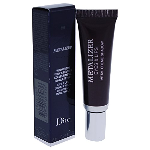 Christian Dior Metalizer Eye and Lips Cream Shadow, Plum Ref