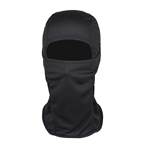 Deal Sunsing Multi Function Windproof Comfortable Face Mask Sports Balaclava/Motorcycle Neck Warmer Ultimate Protection from Cold Wind DUST Sun's UV Rays (Black) (Mask Nike Face)