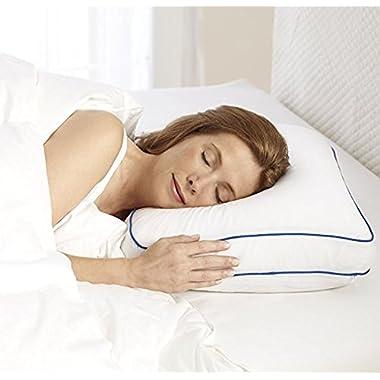 Sleep Innovations G-PIL-08070-BP-WHT Foam Bed Pillow White