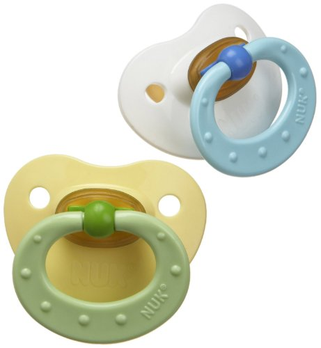 Gerber Nuk Newborn Orthodontic Pacifier Exercise, Assorted colors(colors may vary) (Pacifier Gerber Nuk)