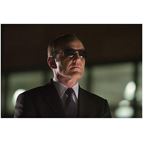 Avengers Clark Gregg as Agent Coulson wearing sunglasses 8 x 10 Inch - Natasha Sunglasses