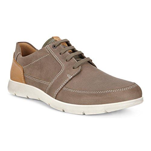 ECCO Men's Iowa Tie Fashion Sneaker,Stone,45 EU/11-11.5 US by ECCO