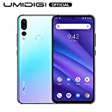 UMIDIGI A5 Pro 6.3'' FHD+ Unlocked Smartphone with Triple Main Camera(16MP+8MP+5MP), 32GB+4GB Ram GSM Cell Phones International Version, Dual 4G LTE, Android 9.0 - US Warranty(Breathing Crystal)